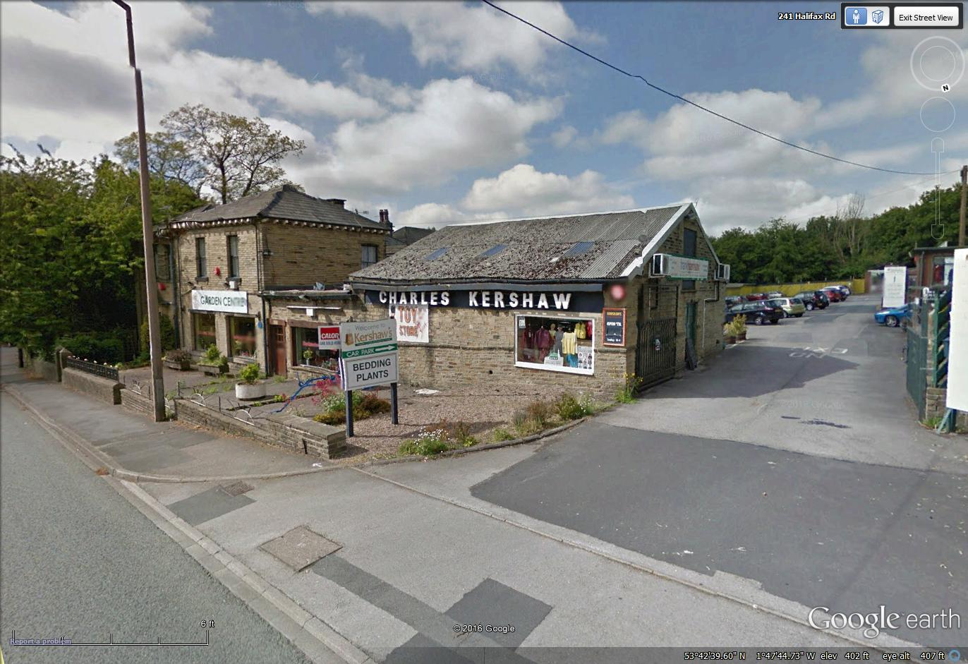 Kershaw's on Halifax Road, Brighouse