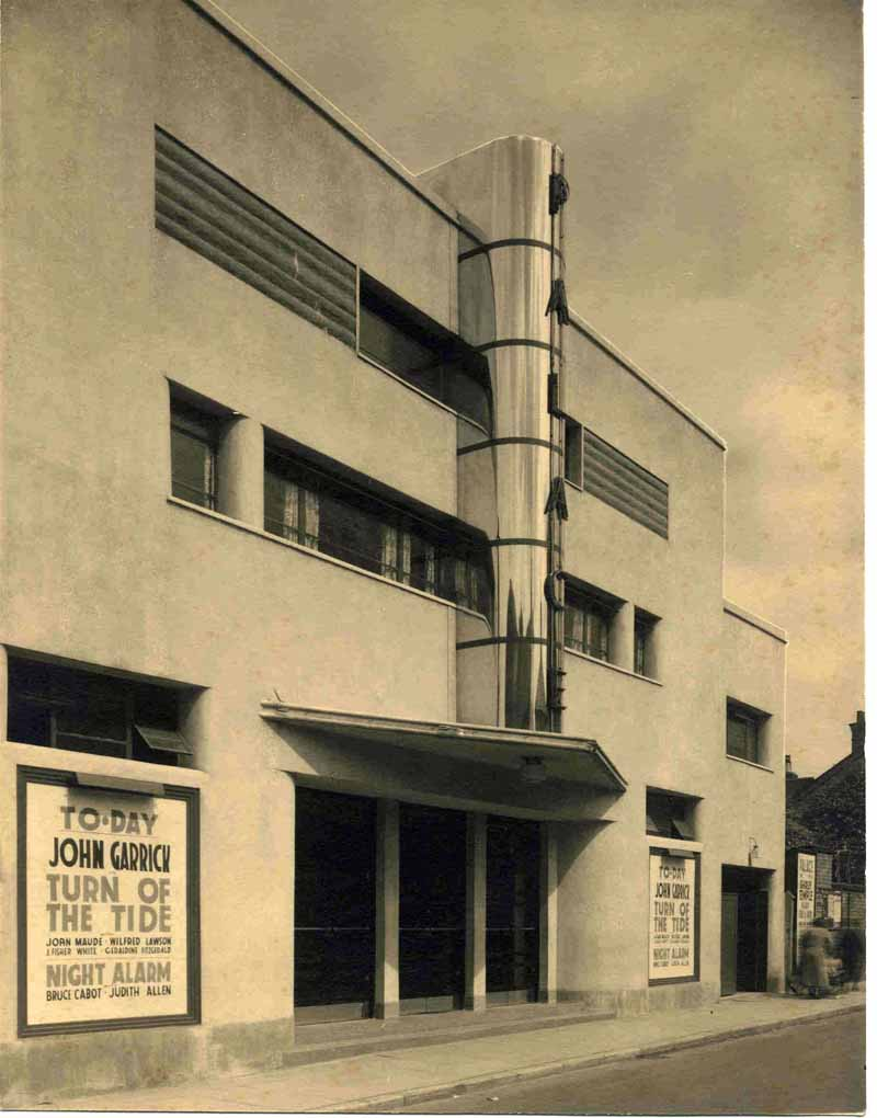 The Palace cinema in Beeston, 1935